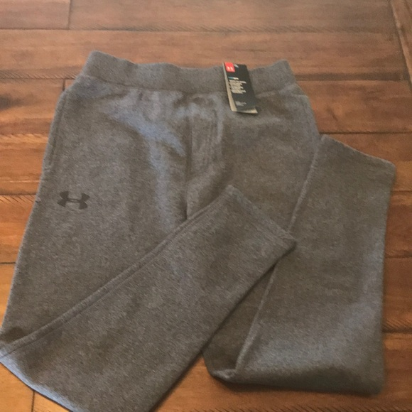 Men/'s Under Armour STORM COLD GEAR STRAIGHT LEG ATHLETIC SWEAT FLEECE PANTS NWT